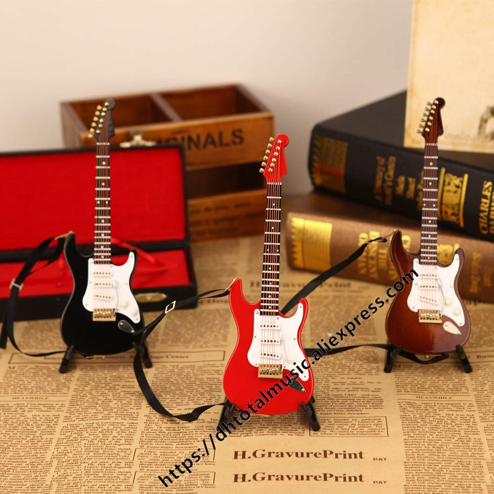 ZAMTAC Miniatura de Madera Instrumentos Musicales colección Adornos Decorativos 1/6 (12
