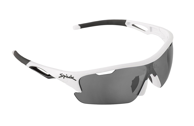 937250dc12 Spiuk Jifter Gafas, Unisex Adulto, Blanco (lumiris II), Talla Única:  Amazon.es: Deportes y aire libre
