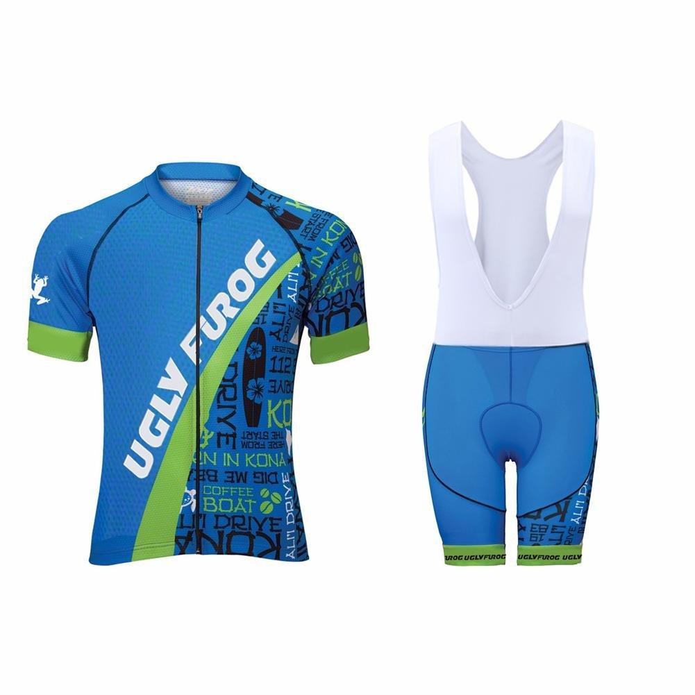 Uglyfrog 2016新作メンズアウトドアスポーツウェア半袖夏スタイルサイクリングジャージーバイクシャツ自転車トップdx29 XL 色 41 B074P3WLYS