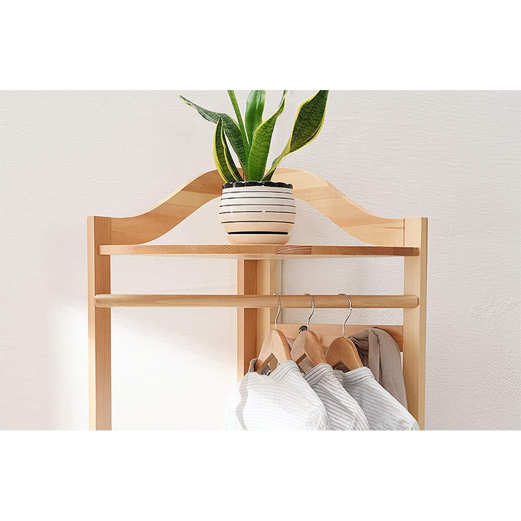 Amazon.com: Perchero esquinero de madera para colgar en el ...