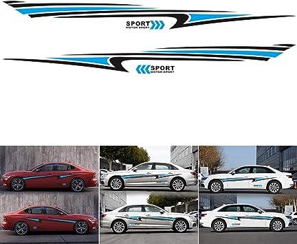 Decal sticker Stripe kit compatible with BMW 5 Series Grand Turismo Rocker Body