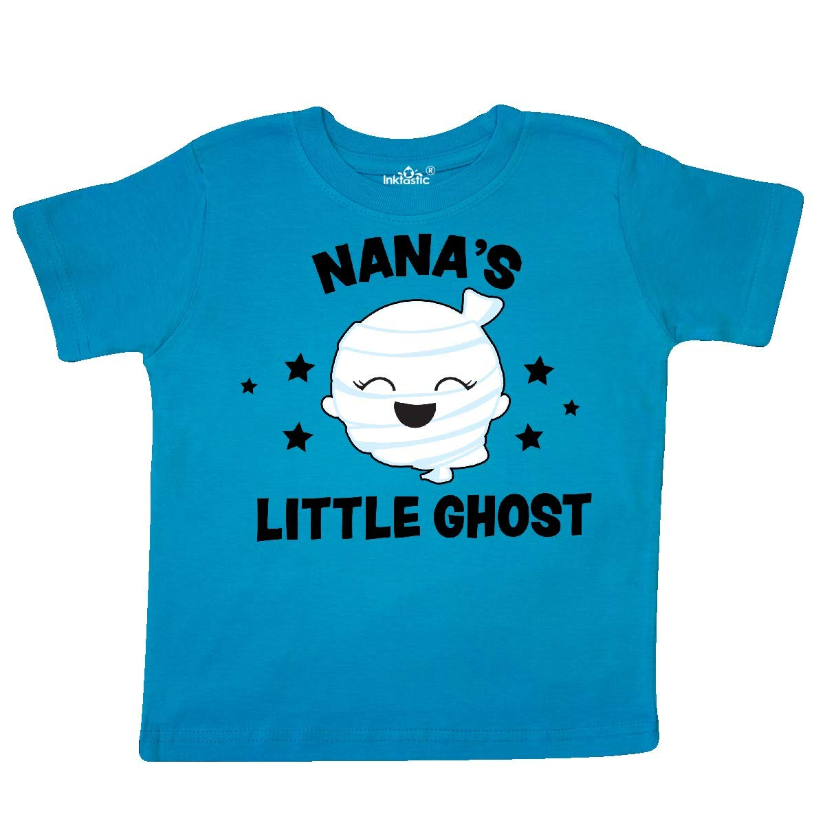 inktastic Cute Nanas Little Ghost with Stars Toddler T-Shirt