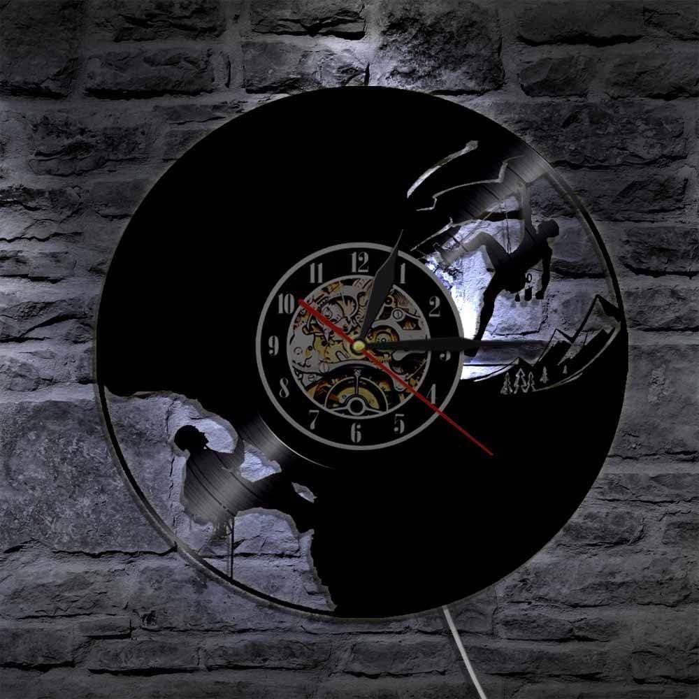 LTOOD Cliffhanger Reloj de Pared para Escalada en Roca ...