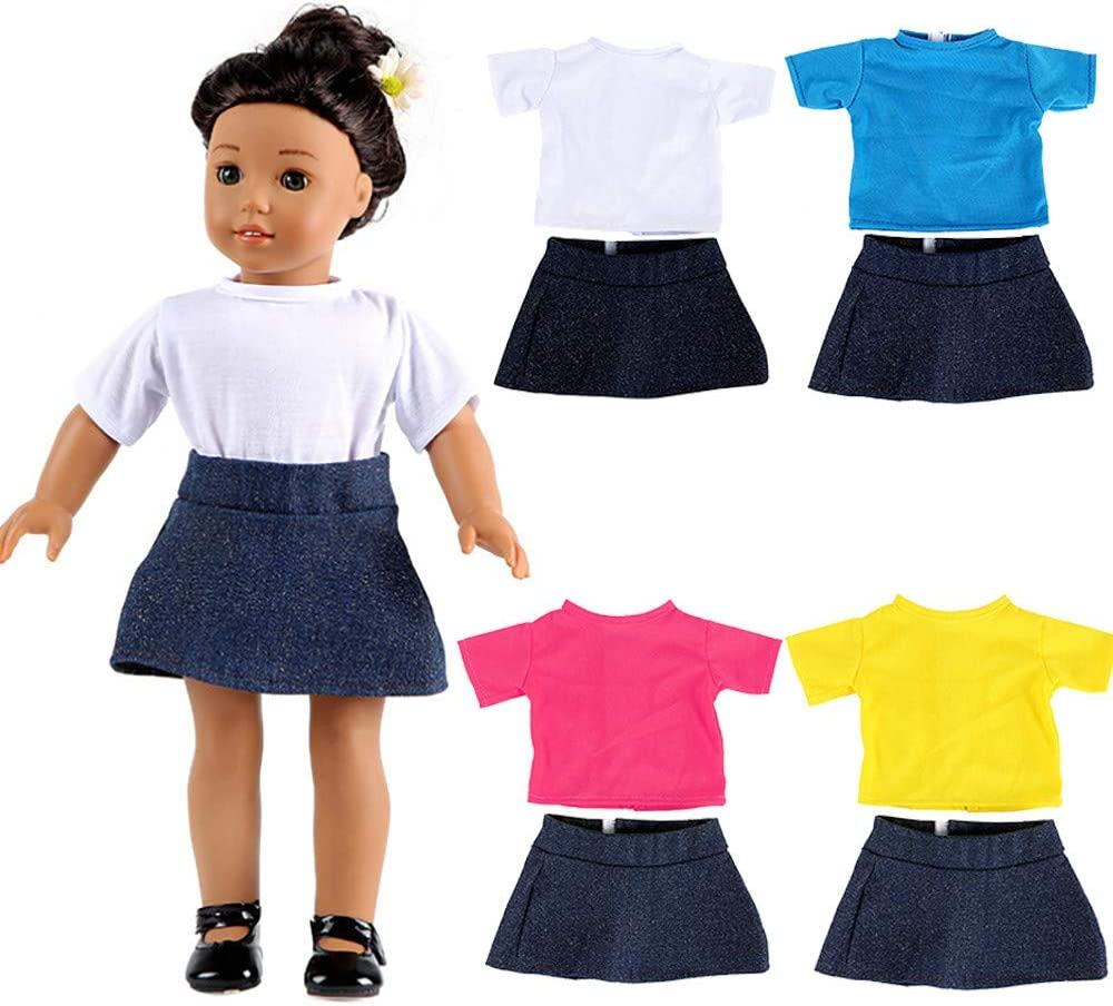 """Dress for 14.5/"""" Wellie Wishers Doll Clothes by TKCT handmade Valentines Sparkle"""