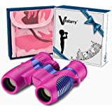 Vanstarry Kids Binoculars 8x21 - Shock Proof Compact Binoculars Toy for Boys and Girls with High-Resolution Real Optics - Bir