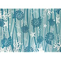 Homefires Rugs Andrea Brooks PPS-ABR001J La Mer Rug44; 26 x 60 in.