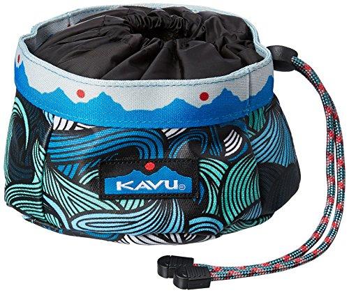 KAVU Buddy Bowl Apparel Belt, Ocean Waves, One Size