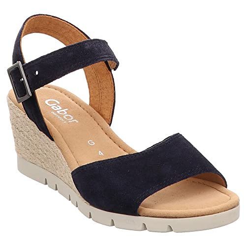 shop best sellers top brands check out Amazon.com   Gabor Nieve Womens Wedge Heel Sandals 5.5 C (M ...