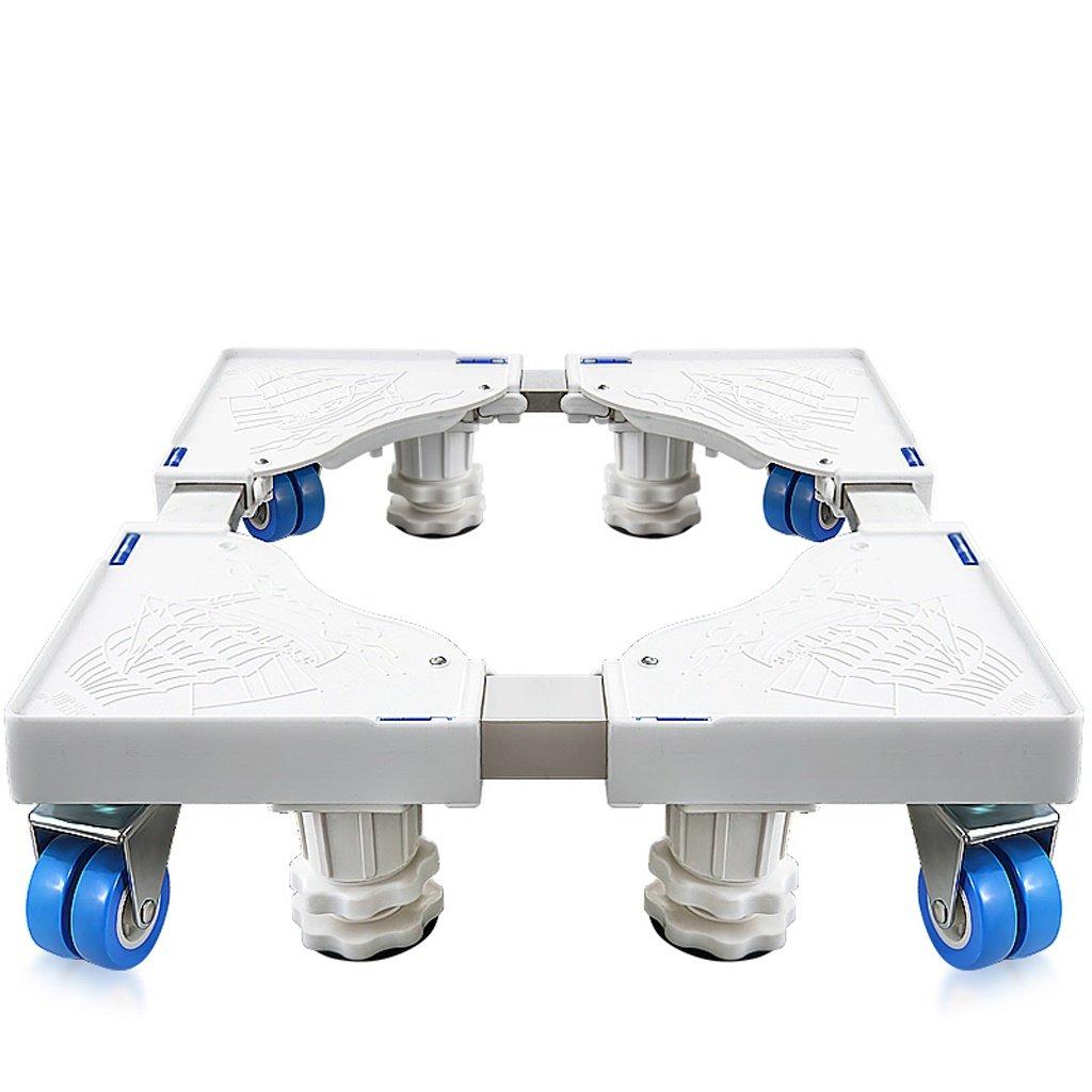 ドラム洗濯機ベースステンレススチール製移動ブラケット冷蔵庫スタンド -洗濯機用据付脚 (サイズ さいず : C) C  B07Q5DG72V