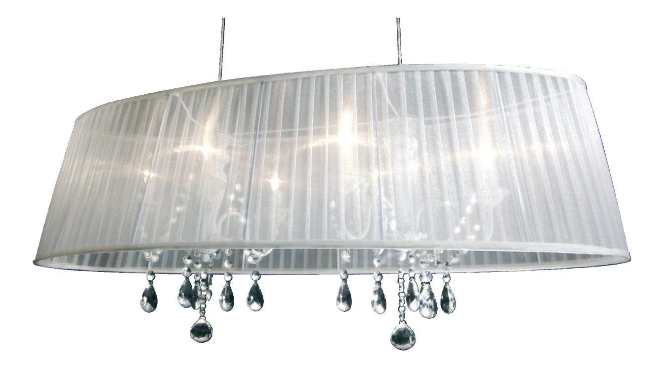 Kronleuchter Mit Organza Schirm ~ Dunord design hängelampe pendellampe venezianischer kronleuchter