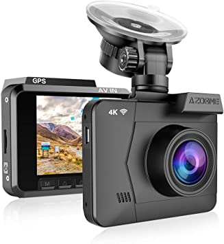 Azdome 4k Wifi Dashcam Autokamera Mit Gps Wdr Elektronik