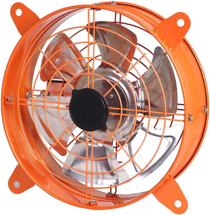 BCXGS Extractor De Aire Industrial, Ventilador Extractor De Cocina con Doble Cubierta de mMalla y Motor de Cobre Puro, para Ventilación Segura Y Rápida