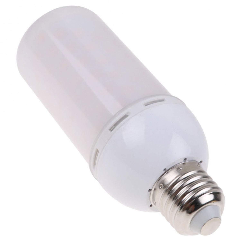 5 x 5 W E27 LED Flackernde Flammen-Effekt-Glühbirne, Warmweiß