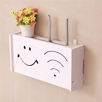 Amazon.com: yazi WiFi Router Cable Power Plug Wire Storage Boxes ...