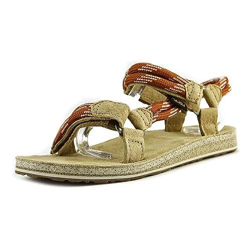 d70bc1d3d19e Teva Original Universal Rope Womens Sandals. Cognac  Amazon.co.uk ...