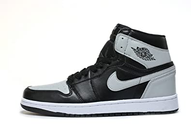 Air Jordan 1 Retro OG Shadow 2018 Black Grey Scarpe da ...