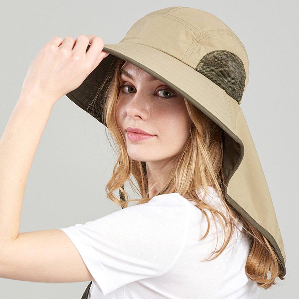b3a2c9184778d WENZHE Verano Gorros Para El Sol Sombreros Viseras Gorras Gorro De Pescador  Pare Mujer Sombra Cuello