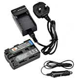 DSTE NP-FM500H Rechargeable Li-ion Battery with Charger DC01 for Sony Alpha SLT-A57, A58, A65, A65V, A77, A77V, A99, CLM-V55, DSLR-A100, A200, A300, A350, A450, A500, A550, A560, A580, A700, A850, A900 Digital Cameras