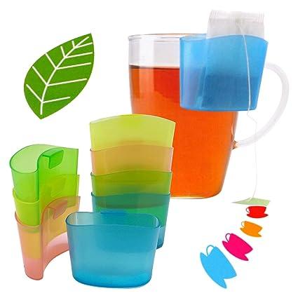 ToCi - Juego de 8 Piezas para Bolsas de té Soporte de ...