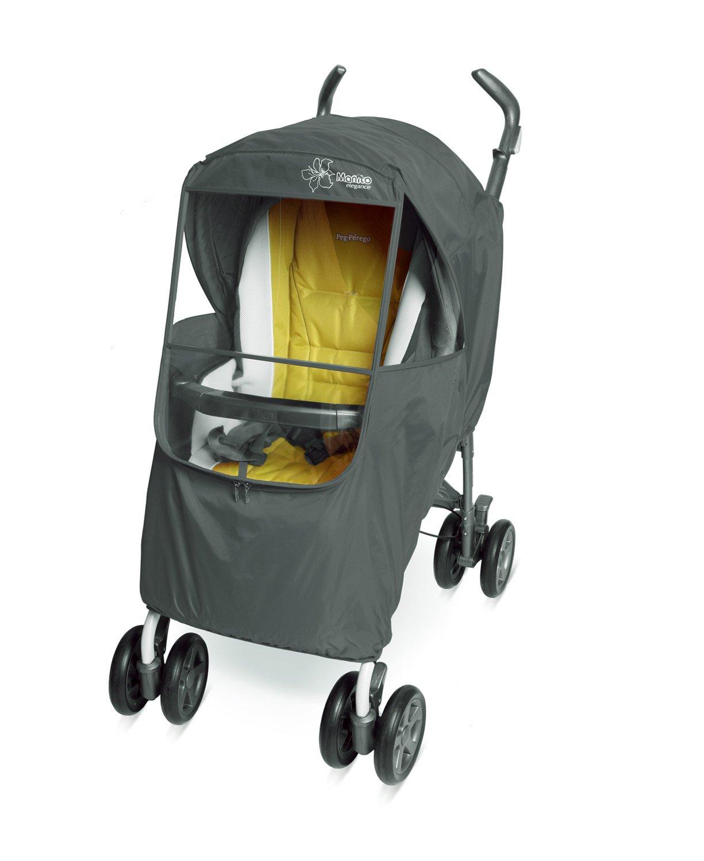 Manito Elegance Plus Stroller Weather Shield/Rain Cover, Gray by Manito