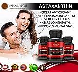 Astaxanthin 10mg 180 Softgels. Powerful Antioxidant & Anti-inflammatory Keto Carotenoid. Natural Algae Supplement. Recommended for: Skin, Joint, Brain, Eye, Cardiovascular & Immune
