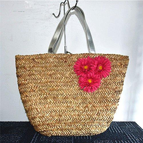 BAGEHUA Stroh Stroh Taschen Handtaschen Handtaschen Strandtasche All-Match Beach reise B B0761RDY22 Taschen Diversifiziertes neues Design
