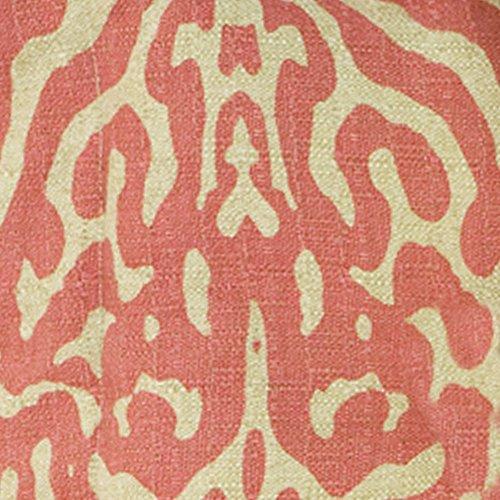 Raspberry Dot (Cotton Tale Designs Raspberry Dot Print Fabric, Light Tan Background Dark Pin)