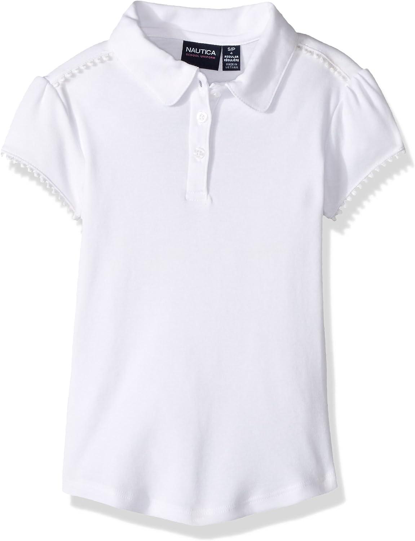 Nautica Uniforme de Colegio, Camiseta Polo para Niñas: Amazon.es ...