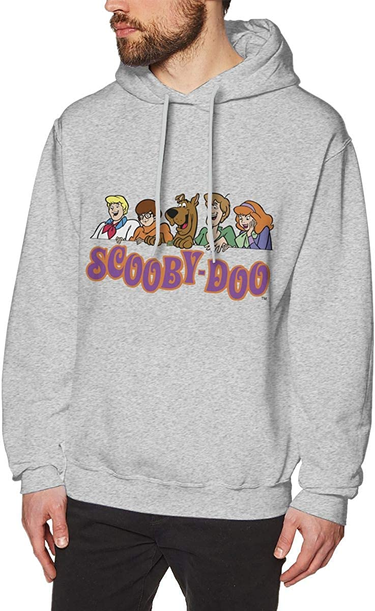 STRANGERS Scoo-by D-oo Mens Performance Light Weight Training Hooded Pullover Sweatshirt