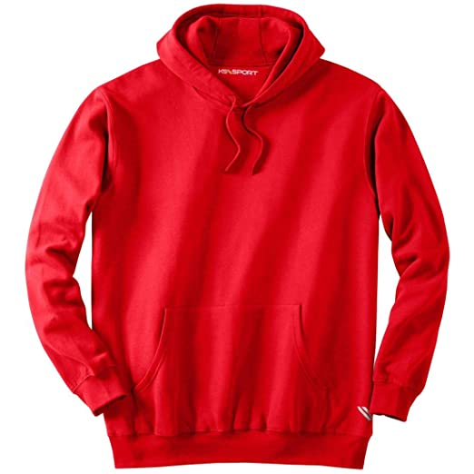 90859144822 Image Unavailable. Image not available for. Color  KS Sport Men s Big    Tall Wicking Fleece Hoodie ...