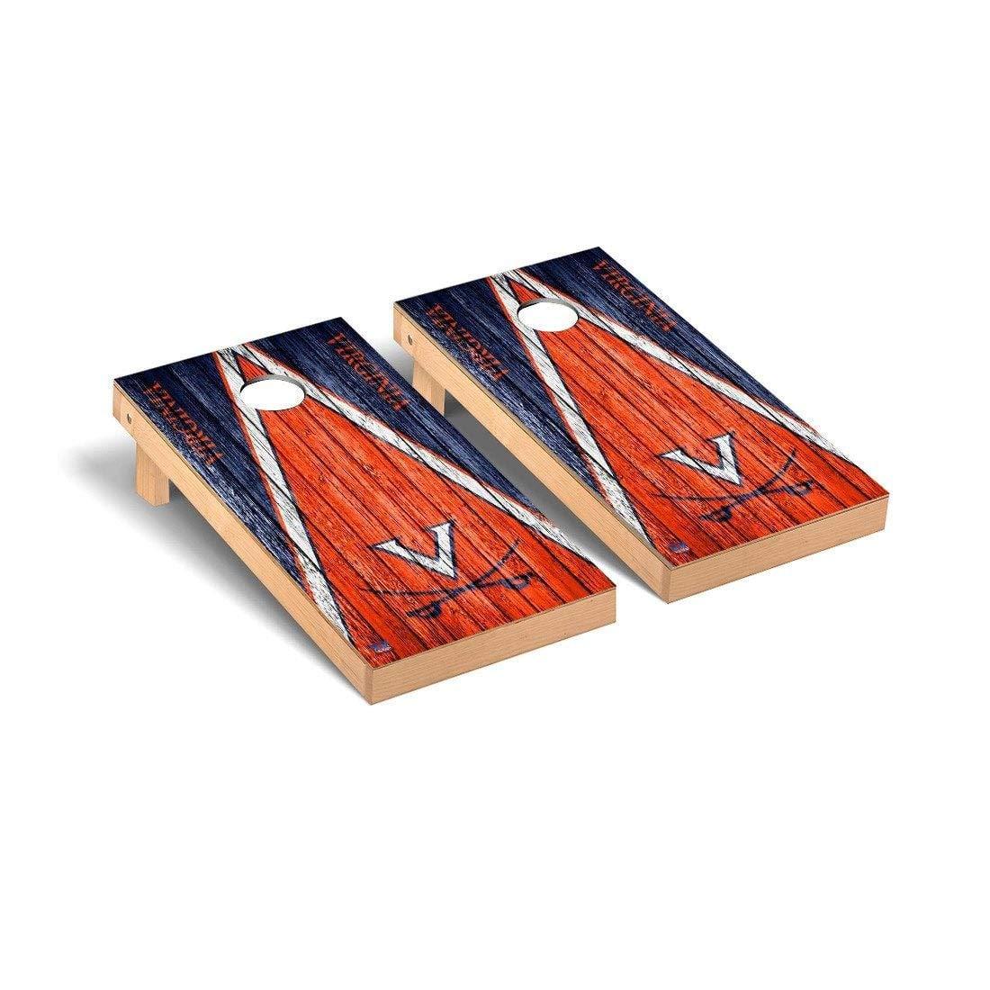 最新作の Virginia Cavaliers Cornhole Game Cavaliers Game Set B01CGTRHL2 トライアングルウェザードバージョン(Triangle Weathered Cornhole Version), 印鑑はんこ@ハンコヤマイスター:7b25dee4 --- arianechie.dominiotemporario.com