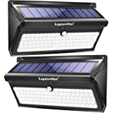 Solar Lights Outdoor 100 LEDs , Motion Sensor Wireless Waterproof Security Light, Solar Lights for Garden, Patio, Yard, Driveway, Garage, Porch , Pathway by Luposwiten [2PACK]