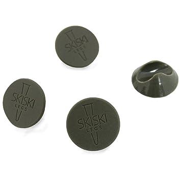 4x Bodenschutz f/ür Hairpin Legs mit 12mm Dicke Transparent oder Schwarz