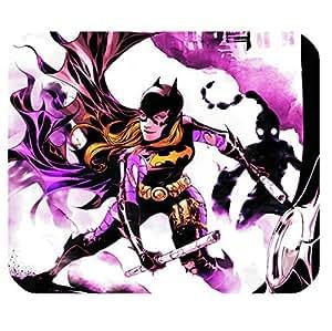 Rectangle Office Mouse pads Film batgirl design for fans