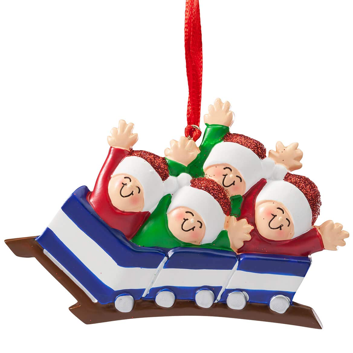 Miles Kimball Family Roller Coaster Ornament