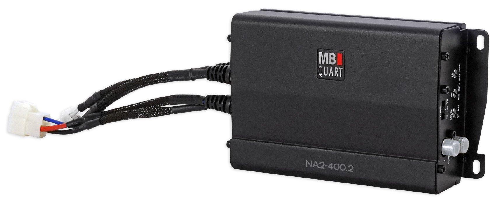 MB QUART NA2-400.2 400w 2-Channel Amplifier Amp For Polaris/ATV/UTV/RZR/CART by MB Quart (Image #2)