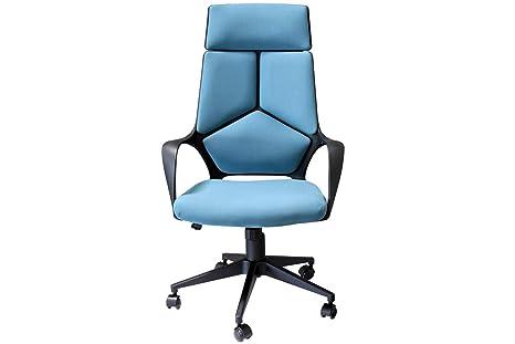 Sedie Ufficio Blu : Poltrona direzionale sedia da ufficio fancy con braccioli in