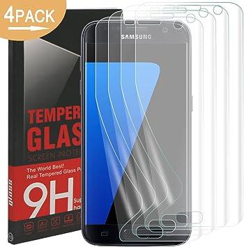 Galaxy S7 Protector de Pantalla, Rusee Ultra HD Protector, [La ...