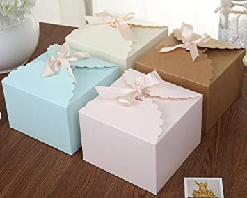 Chilly Cajas de regalo, Set de 12 cajas decorativas, pastel ...