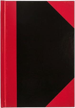 Kladde 70g//m² Notizbuch 96 Blatt Farbe schwarz liniert DIN A6