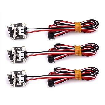 FYSETC - Interruptor de interruptor de interruptor mecánico con 3 ...