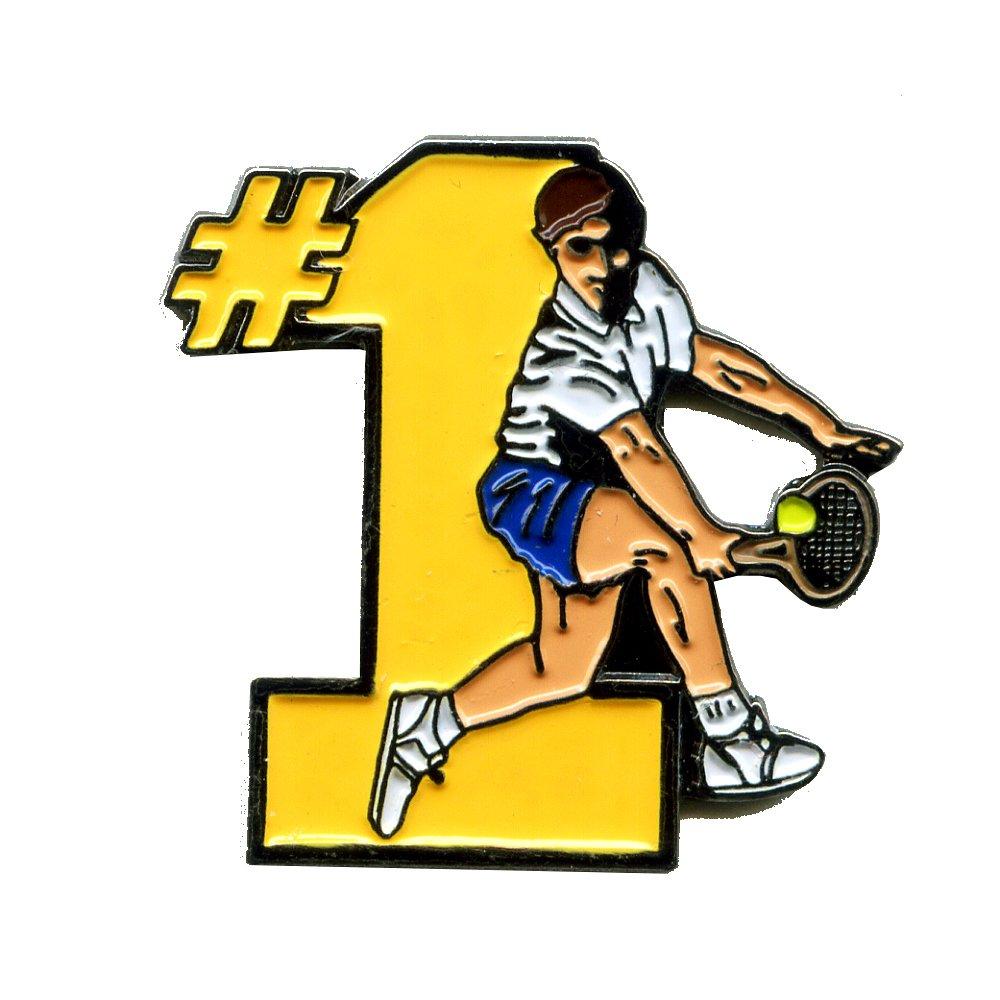 Wimbledon fan allemagne tennis sport button pin badge en m/étal et /écussons 0029