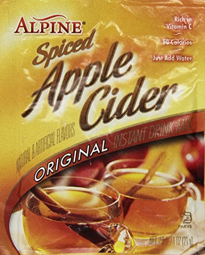 Krusteaz Alpine Apple Cider , 0.74 oz. pouches ( pack of  - Hot Spiced Apple