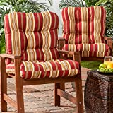Greendale Home Fashions Outdoor Seat/Back Chair