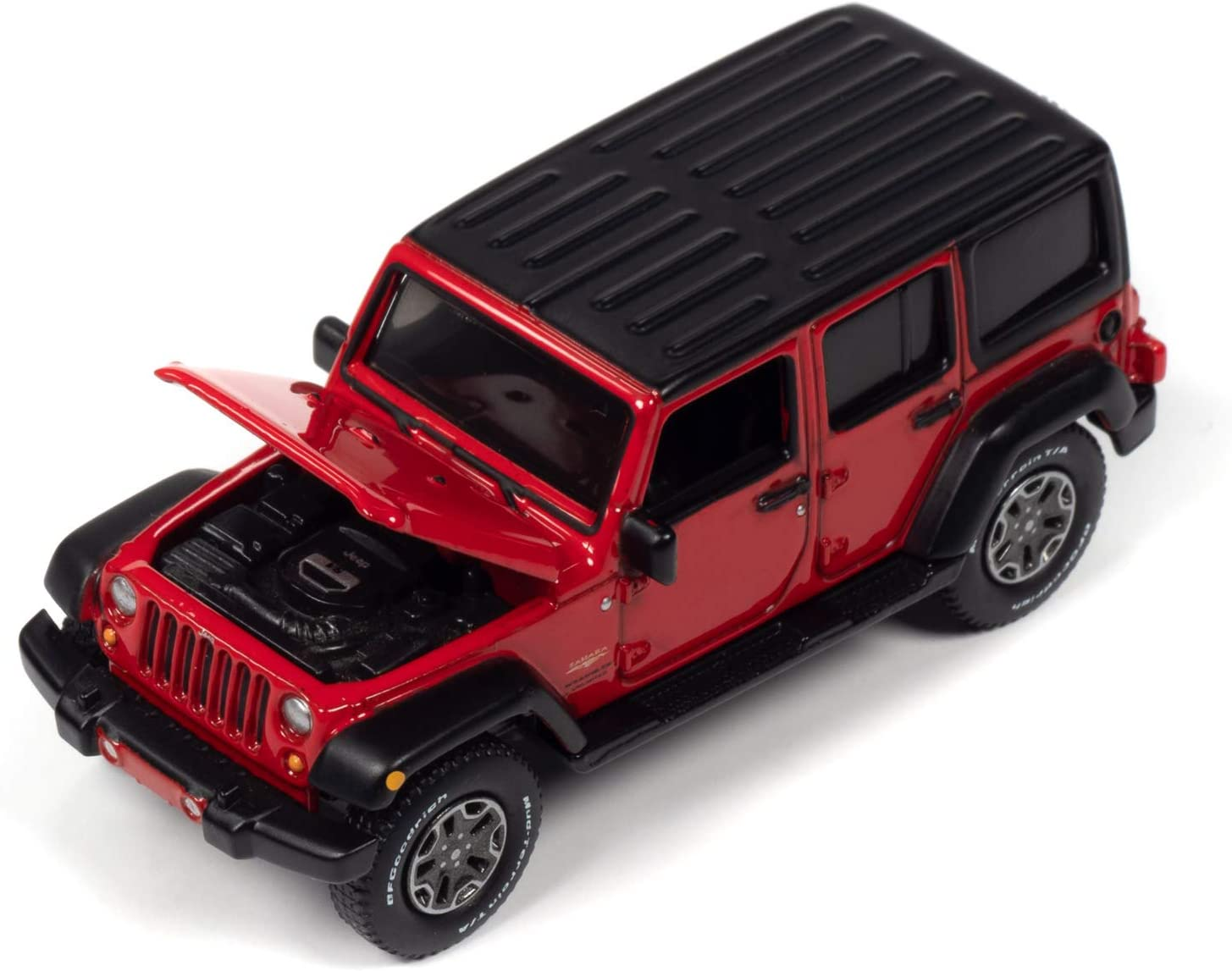 Auto World 2018 Jeep Wrangler Unlimited Sahara Collectible 1:64 Scale Diecast