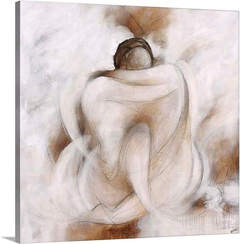 Love Embracing Canvas Wall Art Print
