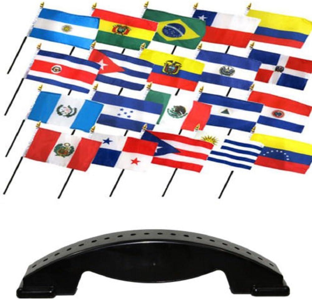 4 x 6 Latin American sur/central 20 Países de habla española 4