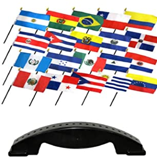 9 x 6 Argentina Argentinian Large Desktop Table Flag With Wooden Base /& Pole Ideal For Party Conferences Office Display