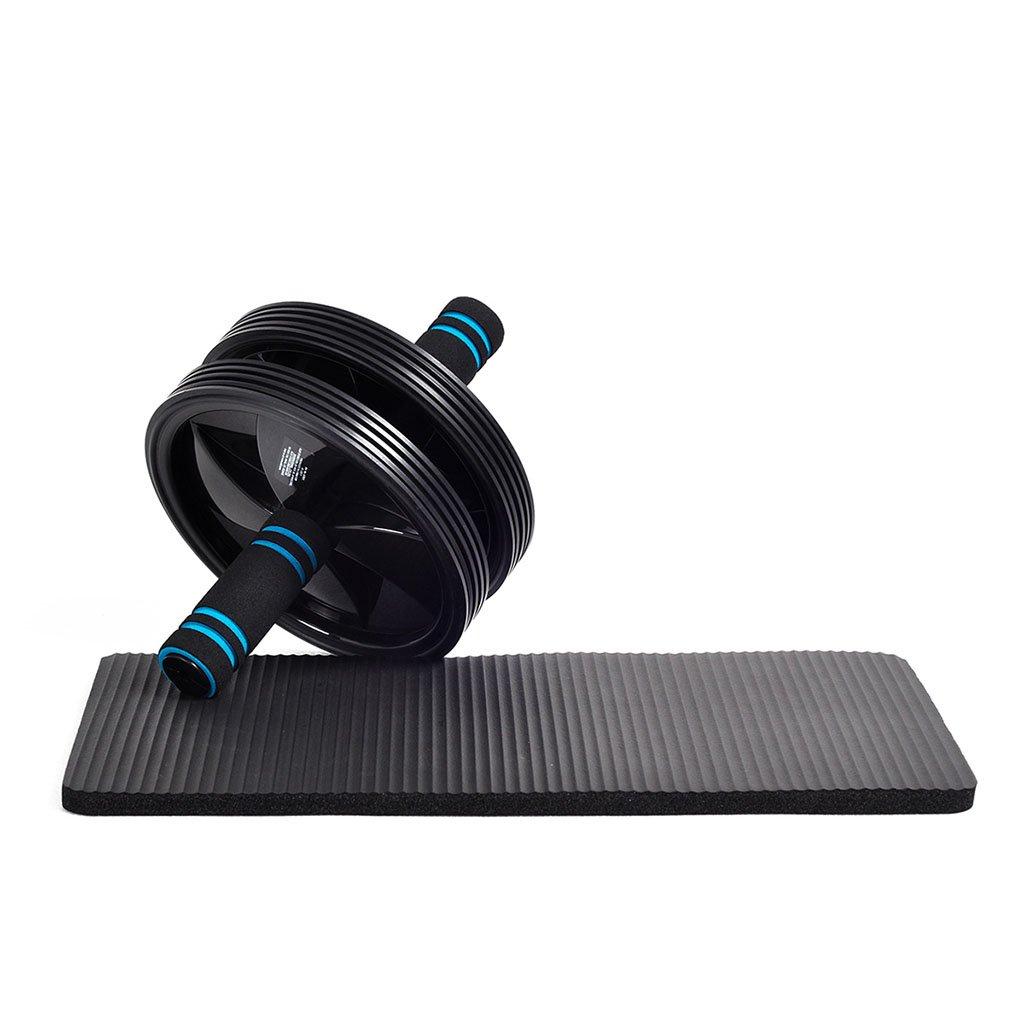 AI XIN SHOP Ab Roller Wheel Exercise und Fitness Wheel mit Einfachen Griffen Griffe und Stummschaltung für Bauch Workout