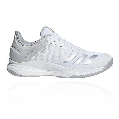 low priced a826c e12e8 Adidas Crazyflight X 2, Chaussures de Volleyball Femme, Blanc  (Ftwbla Plamet  ...